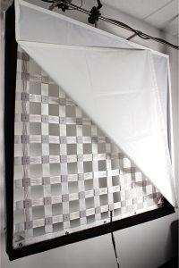 LED Filmlicht mit Frame / flexible led panel