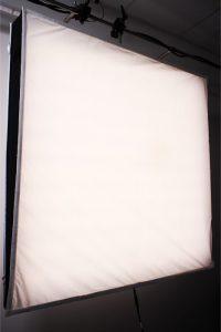 LED Filmlicht mit Diffusor / flexible led panel