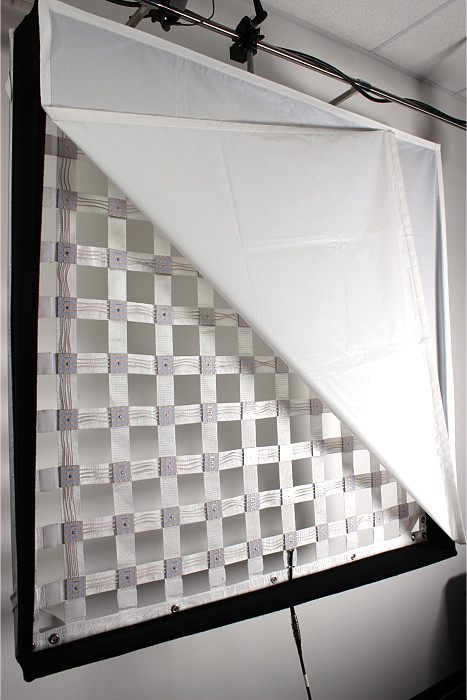 LED Filmlicht mit Frame / flexible led panel