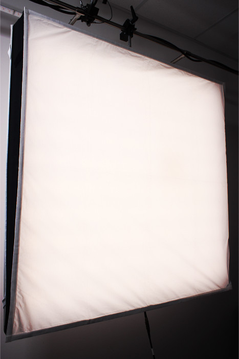 LED Filmlicht mit Diffusor / flexible led panel