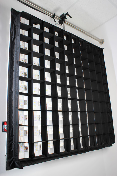 LED Filmlicht mit SnapGrid / flexible led panel