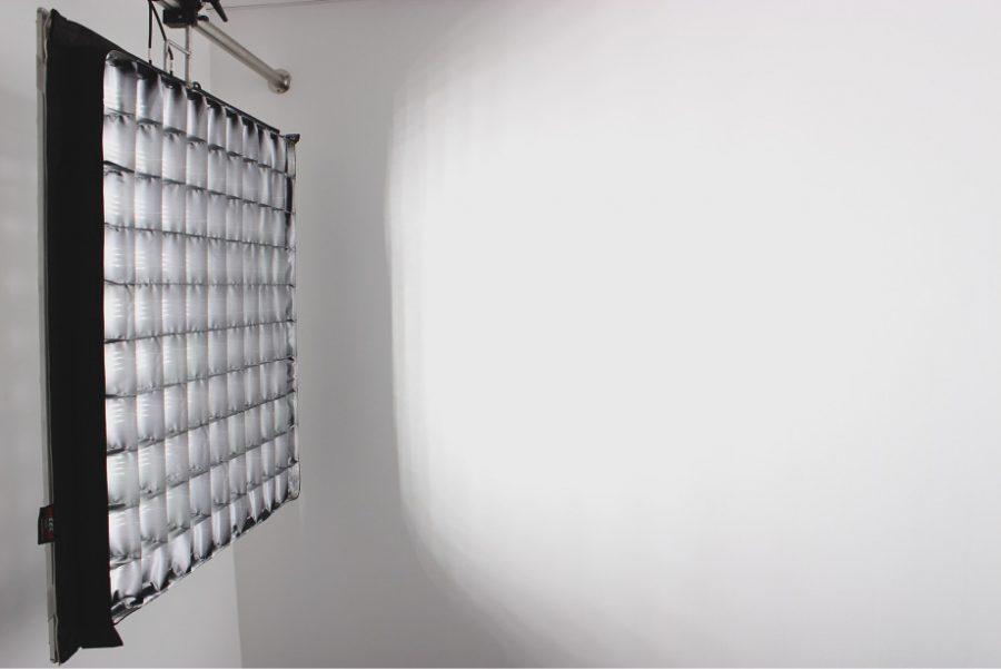 LED Filmlicht mit SnapGrid / flexible led panel
