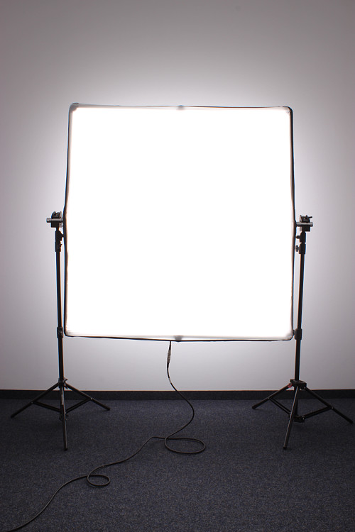 Led softbox ohne backcover