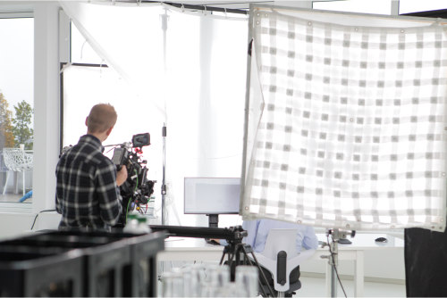Butterfly-ledz led studioscheinwerfer, led video light